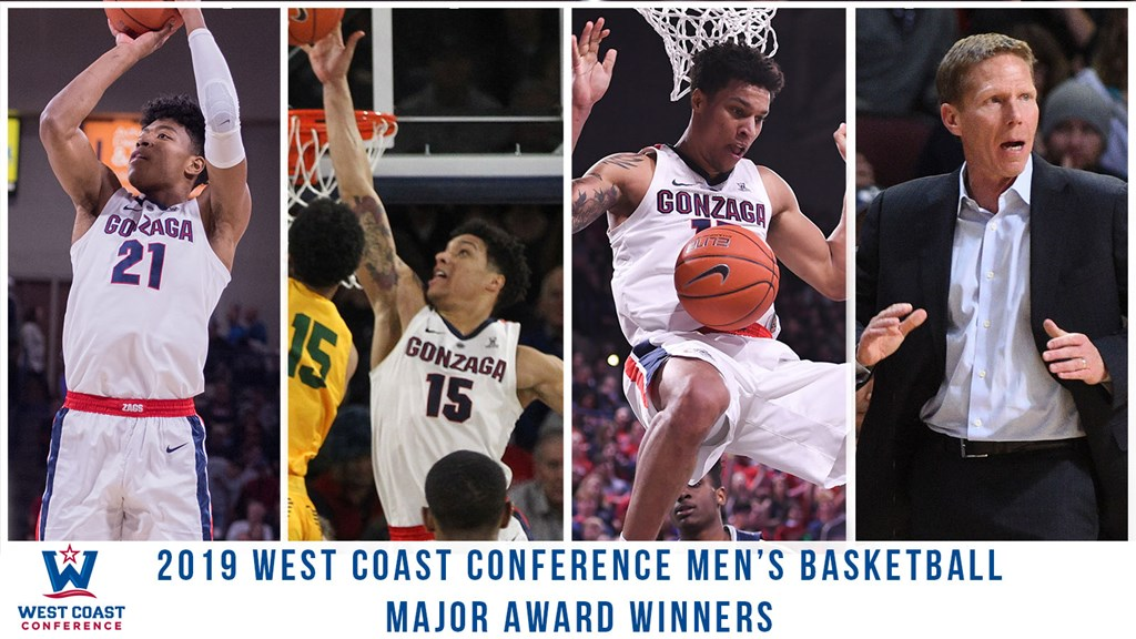 WCC Announces 2018-19 Men's Basketball All-Conference Team